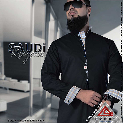 SAUDi ROYALE - BLACK+CHECK