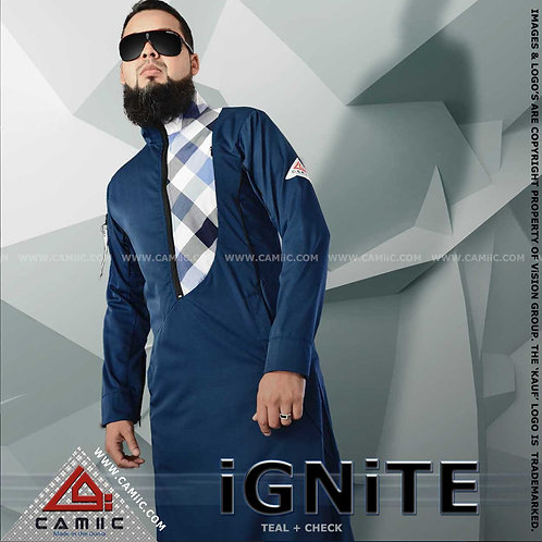 iGNiTE - TEAL CHECK