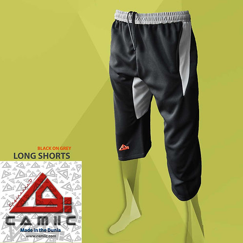 3/4 Long Shorts Black
