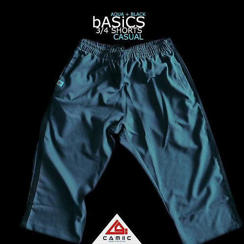 3/4 Shorts BASiC Aqua