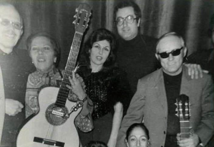 Rosa con Roberto Murolo e Concetta Barra