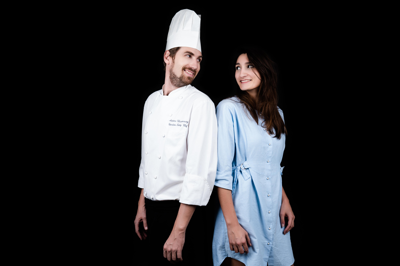 Audrey & Chef Antoine