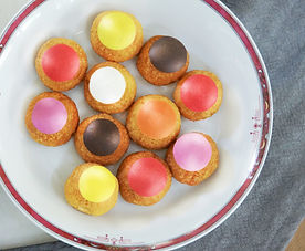 ChouPop's customizable french pastry coffee house catering pick-up