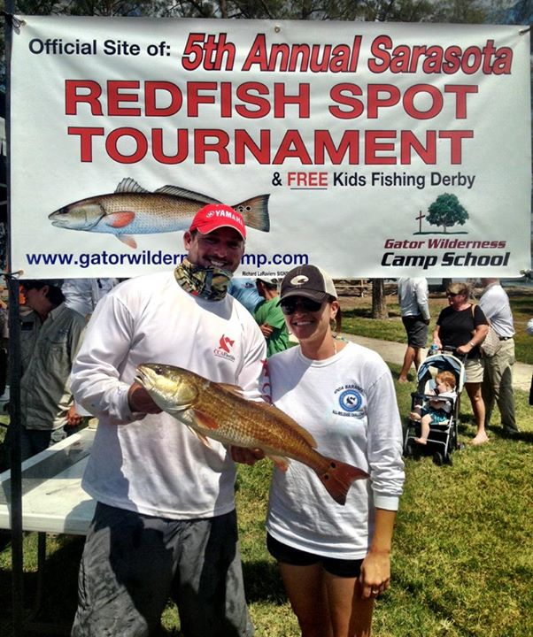 Fished the spot tourney with my hot ass partner! We caught a bunch of fish, but all the reds had two