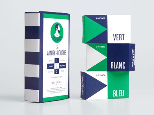 LE BAIGNEUR - Pack 3 amuse-douche
