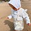 Thumbnail: CITRON CHANTILLY - Jupe Vanille liégeois Lin Blanc