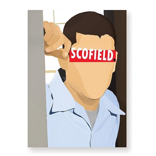 HUGOLOPPI - Affiche Michael Scofield