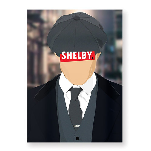 HUGOLOPPI - Affiche Thomas Shelby