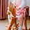 Thumbnail: CITRON CHANTILLY - Barboteuse Sorbet Rayé Rose et blanc