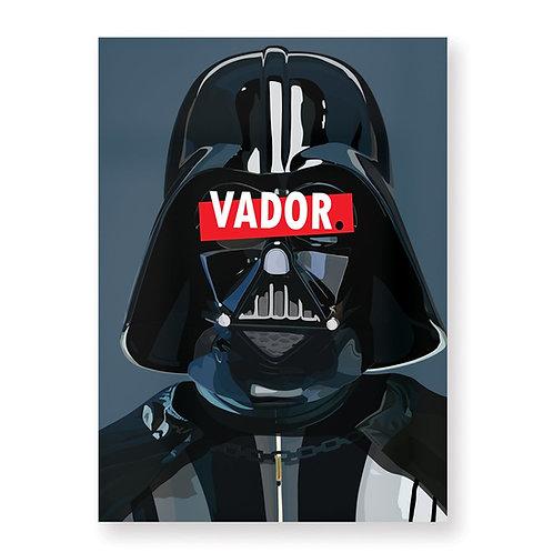 HUGOLOPPI - Affiche Dark Vador
