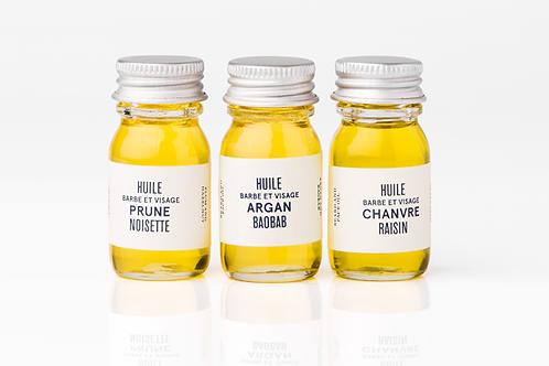 LE BAIGNEUR - Pack 3 mini-huiles