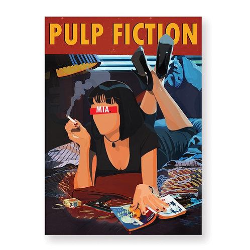 HUGOLOPPI - Affiche Pulp Fiction