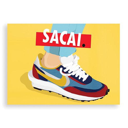 HUGOLOPPI - Affiche Nike Sacai