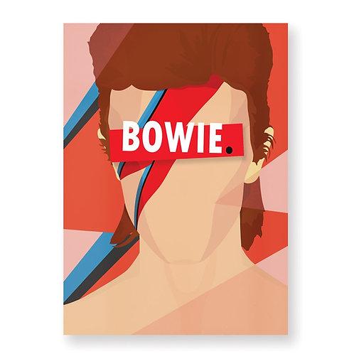 HUGOLOPPI - Affiche David Bowie