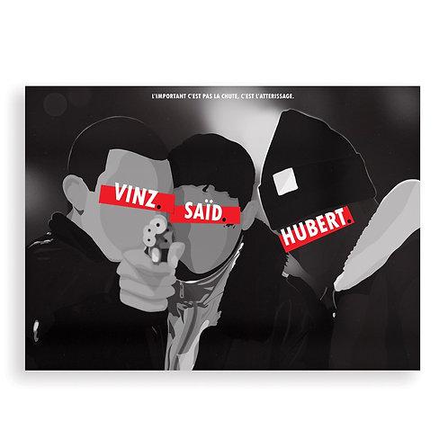 HUGOLOPPI - Affiche La Haine
