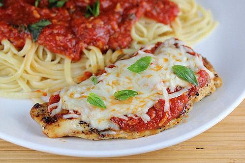 Inside out Chicken Parmesan Dinner