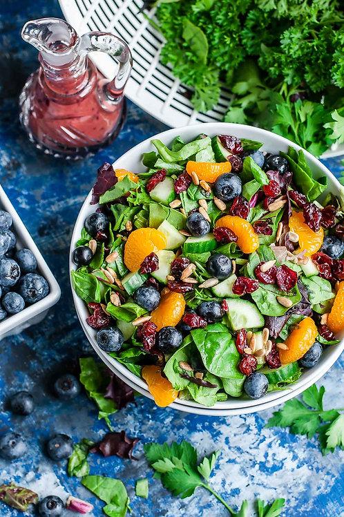 A la Carte Cranberry Blueberry Salad