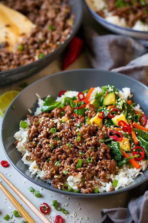 Korean Bowl - Beef or Turkey