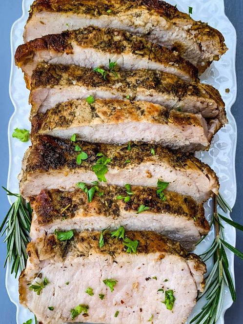 Italian Pork Loin Dinner