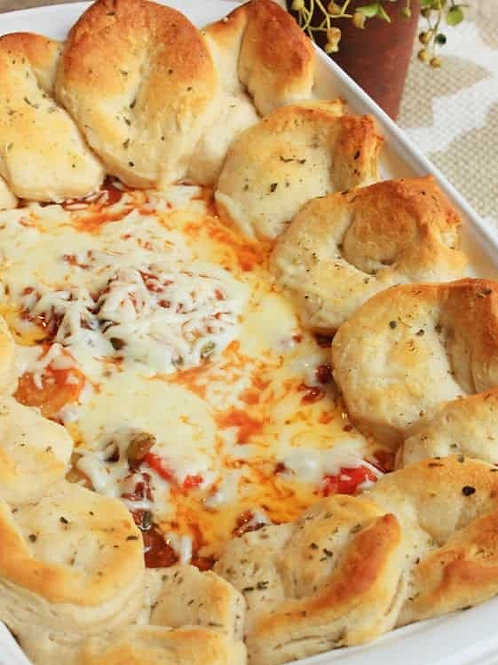 No Veggies Italian Casserole