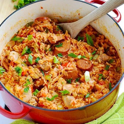 Creole Jambalaya Dinner