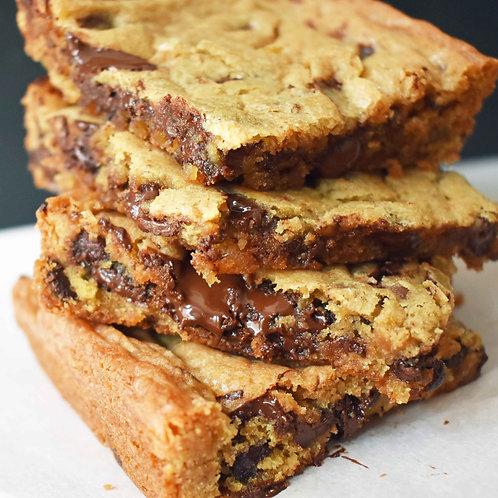 Chocolate Chip Cookie Bars - Take and Bake