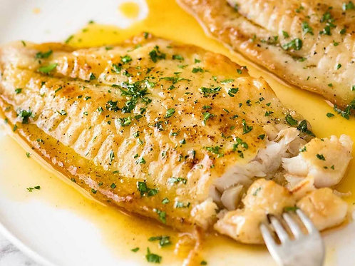 Lemon and Browned Butter Pollock