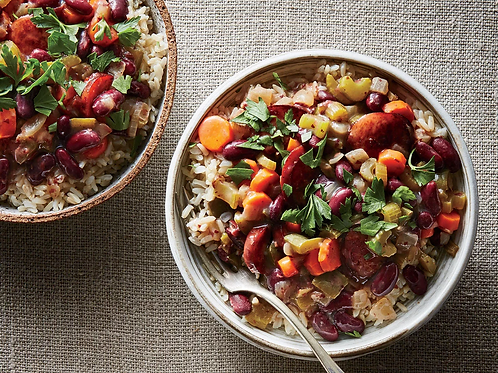 Lightened Up Red Beans and Rice