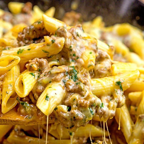 Cheesy Beef Penne Dinner