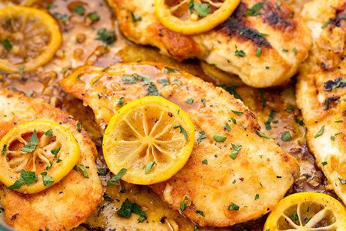 Lemon Pepper Chicken Dinner
