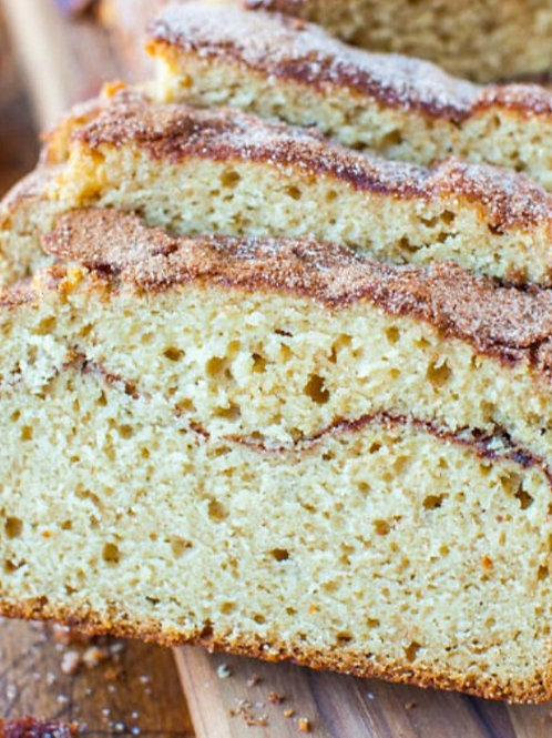 Homemade Snickerdoodle Banana Bread