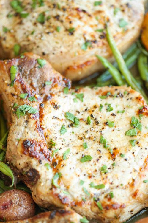 Ranch Pork Chop Dinner