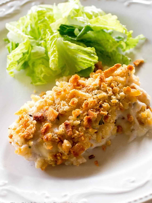 Swiss and Stuffing Chicken Breast Dinner