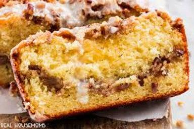 Vanilla Yogurt Coffee Cake Loaf