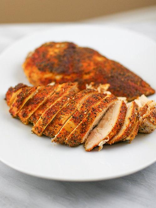 Dry Rub BBQ Chicken Breast Dinner