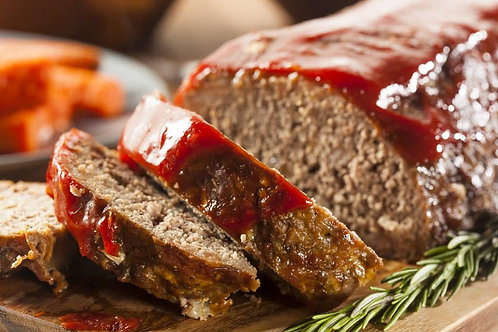 Smoked Tomato Meatloaf Dinner