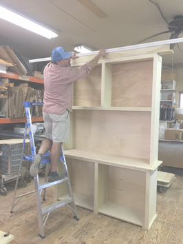 Soon To Be Built-In TV Cabinet