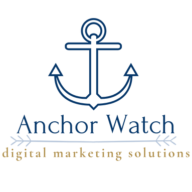 Anchor with name of business Anchor Watch Marketing