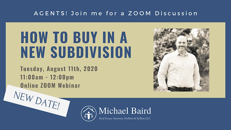 How to Buy in a New Subdivision