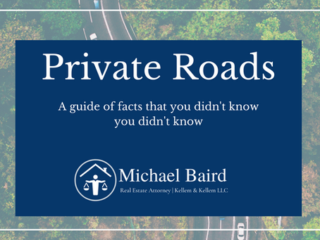 Private vs. Public Roads