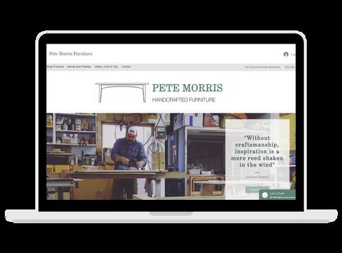 Pete Morris Furniture Website