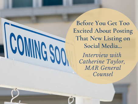 Interview: Before You Get Too Excited About Posting That New Listing on Social Media