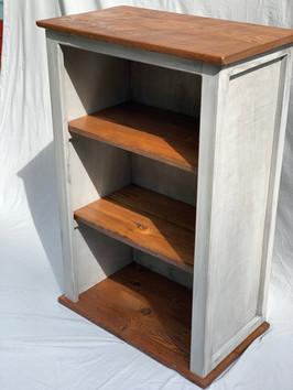 Bookshelf with Reclaimed Barnwood