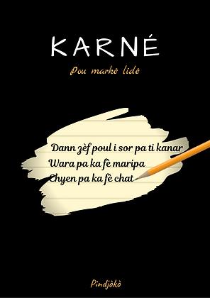 "Karné ""Nout lang kréyòl"""