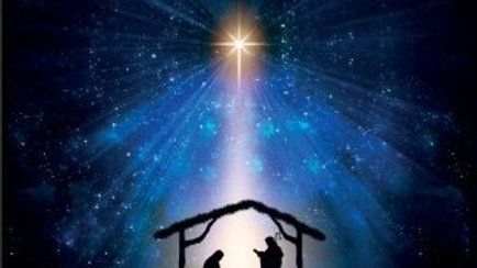 Star and Nativity - Christmas Cards