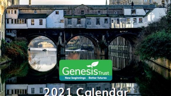 Genesis Trust Bath 2021 Calendar