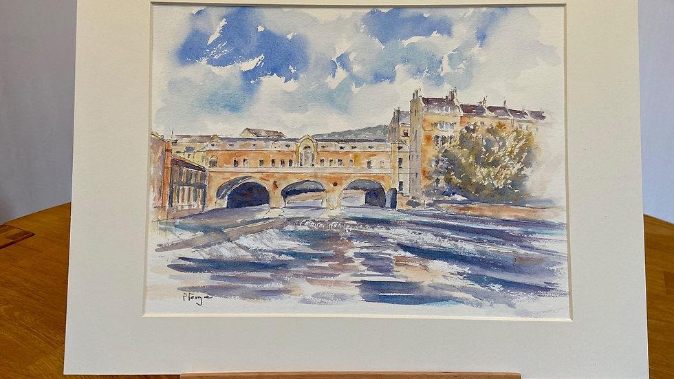 Putney Bridge, Bath Painting