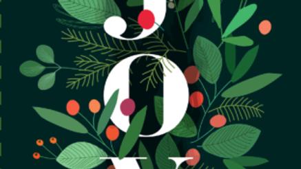 Joy - Christmas Cards
