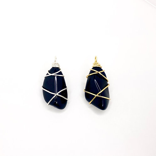 Black Tourmaline Duo