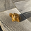 "Thumbnail: 2"" Turtle Figurine - Tiger's Eye"
